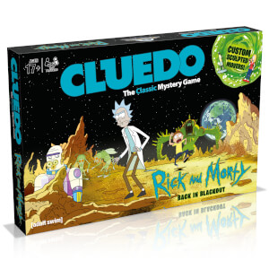 Cluedo Mystery Board Game - Rick and Morty Edition