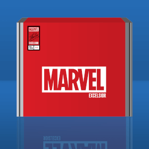 Boîte Exclusive Marvel Excelsior! London Comic Con