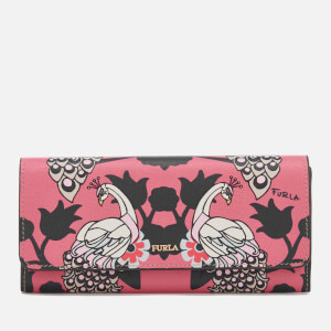 Furla Women's Charme Extra Large Billfold Wallet - Pink