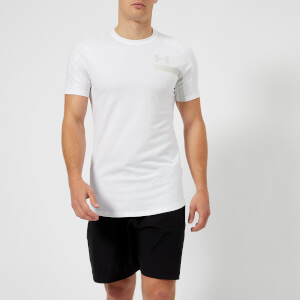 Under Armour Men's Perpetual Short Sleeve Graphic Top - White/Steel