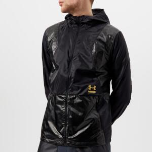 Under Armour Men's Perpetual Full Zip Jacket - Black/Metallic Gold