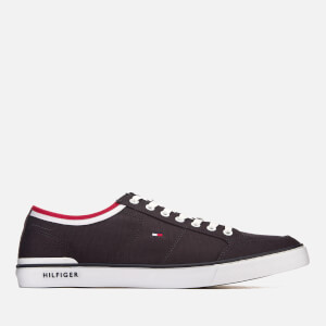 Tommy Hilfiger Men's Core Corporate Canvas Trainers - Midnight