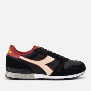 Diadora Men's Titan II Winter Pack Trainers - Black/Pink Tint