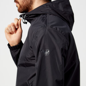 Emporio Armani Men's Split Colour Blouson Jacket - Blu Navy