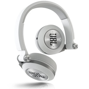 JBL Syncros E40BT Bluetooth On Ear Headphones - White