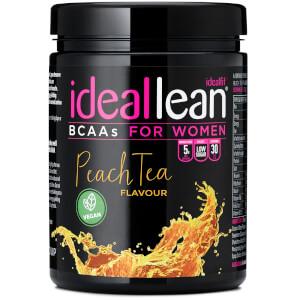 IdealLeanビーガンBCAA(分岐鎖アミノ酸) - ピーチティー味