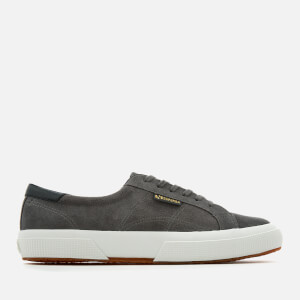 Superga Men's 2386 Suede FGL Trainers - Grey Ash