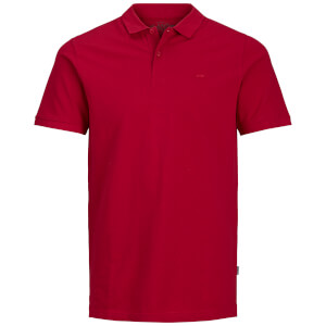Jack & Jones Men's Originals Basic Polo Shirt - Jester Red