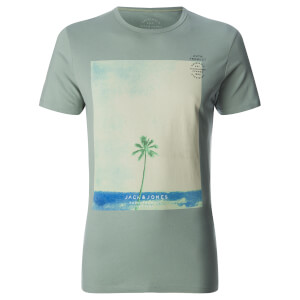 T-Shirt Homme Originals Omega Jack & Jones - Vert