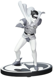 DC Collectibles DC Statue Batman Black & White Robin By Infantino