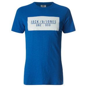 T-Shirt Homme Core Pressed Jack & Jones - Bleu