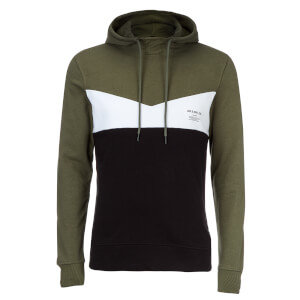 Jack & Jones Men's Core Clarens Hoody - Thyme Blue