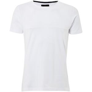 Dissident Men's Lear Textured T-Shirt - Optic White