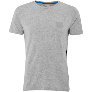 Dissident Men's Yasumi Logo T-Shirt - Light Grey Marl