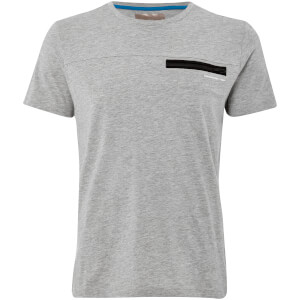 Dissident Men's Adachi T-Shirt - Light Grey Marl