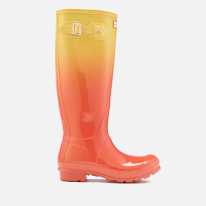 Hunter Women's Original Tall Colour Haze Wellies - Sunset/Hay
