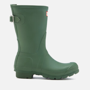 Hunter Women's Original Back Adjustable Short Wellies - Hunter Green