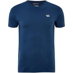 Le Shark Men's Kensal V Neck T-Shirt - Teal Blue