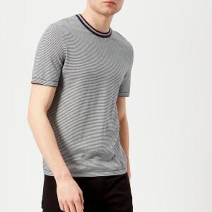 Ted Baker Men's Time Knitted T-Shirt - Navy