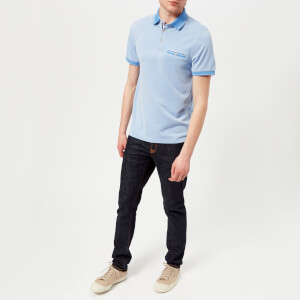 b70957fdc8f9 Ted Baker Men s Cagey Soft Touch Polo Shirt - Bright Blue Bekleidung ...