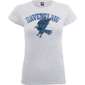 T-Shirt Harry Potter Corvonero Grey - Donna