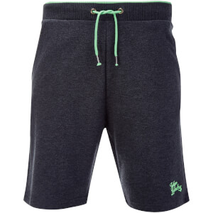 Tokyo Laundry Men's Lawes Sweat Shorts - Charcoal Marl