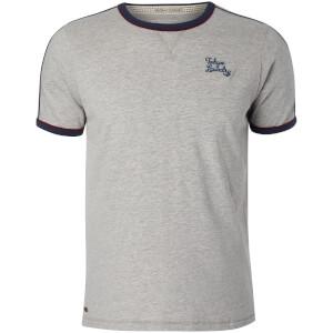 T-Shirt Homme Fernfield Tokyo Laundry - Gris Clair Chiné
