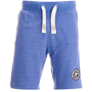 Tokyo Laundry Men's Red Feather Sweat Shorts - Cornflower Blue Marl