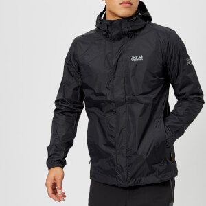 Jack Wolfskin Men's Cloudburst Jacket - Black