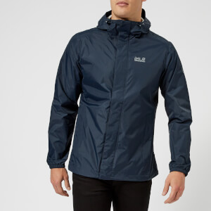 Jack Wolfskin Men's Cloudburst Jacket - Night Blue