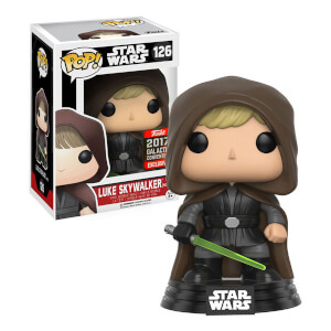Star Wars Hooded Jedi Luke EXC Pop! Vinyl Figure