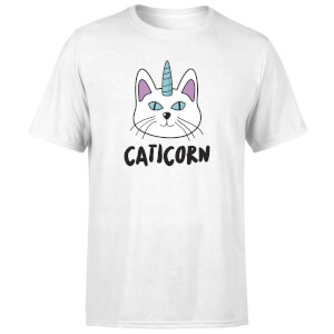 Caticorn T-Shirt - White