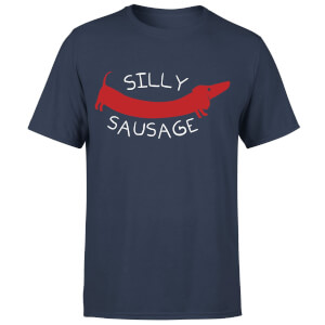 Silly Sausage T-Shirt - Navy