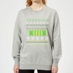 Pull My Cracker Women's Sweatshirt - Grey