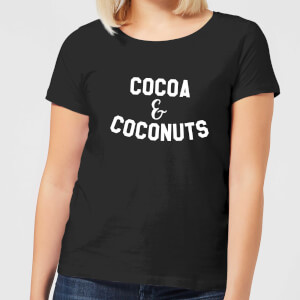 Cocoa and Coconuts Women's T-Shirt - Black
