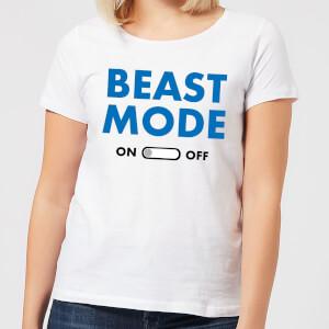 Beast Mode On Women's T-Shirt - White