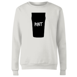 Full Pint Women's Sweatshirt - White