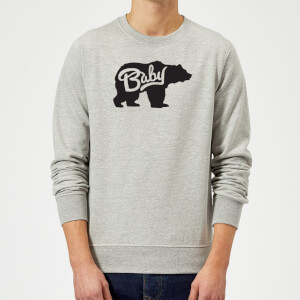 Baby Bear Sweatshirt - Grey