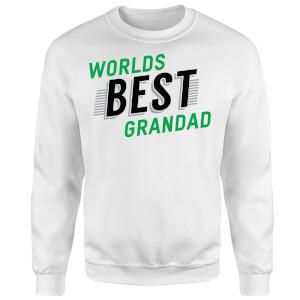 Worlds Best Grandad Sweatshirt - White