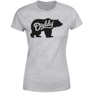 Daddy Bear Women's T-Shirt - Grey