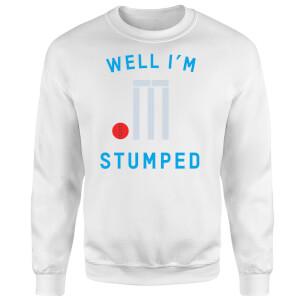 Well Im Stumped Sweatshirt - White