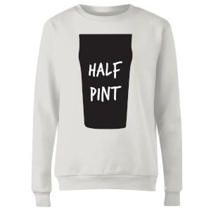 Half Pint Women's Sweatshirt - White