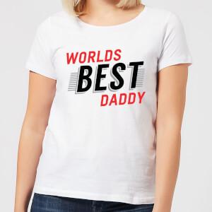 Worlds Best Daddy Women's T-Shirt - White