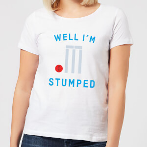 Well Im Stumped Women's T-Shirt - White