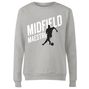 Midfield Maestro Women's Sweatshirt - Grey