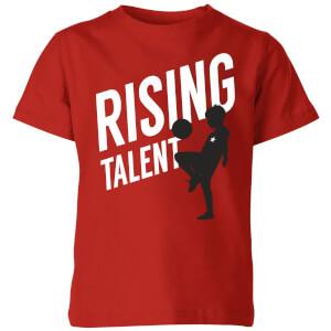 Rising Talent Kids' T-Shirt - Red