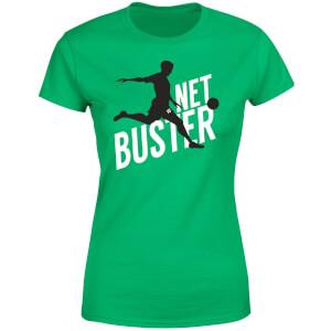 T-Shirt Femme Net Buster - Vert