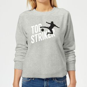 Top Striker Women's Sweatshirt - Grey