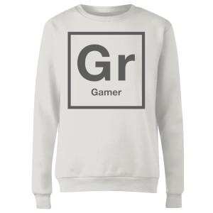 Periodic Gamer Women's Sweatshirt - White