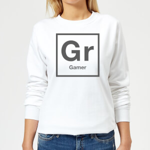 Periodic Gamer Women's Sweatshirt - White